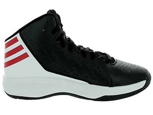 Adidas Mannen Speedbreak Basketbalschoenen Kern Wit / Scarlet / Zwart