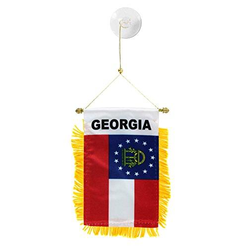 US Flag Store Georgia Mini Window Banner