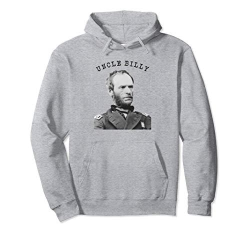 US Civil War Uncle Billy General William Tecumseh Sherman Pullover Hoodie
