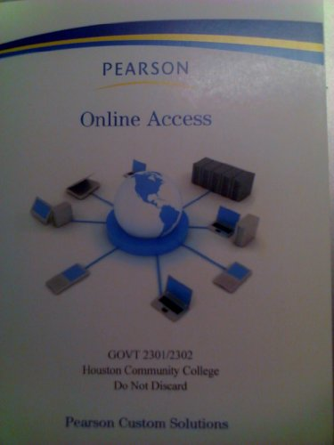 Pearson Online Access Code American Government