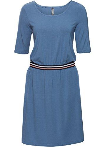 Damen Athleisure-Shirtkleid, 213162 in Jeansblau