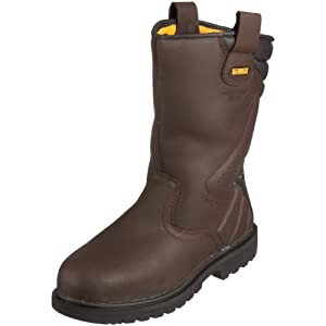 Dewalt Rigger Chaussures de sécurité homme – Marron (Brown) 45 EU