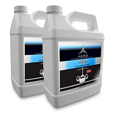 Aero 5862-2 View Interior/Exterior Glass and Surface Cleaner - 1 Gallon, (Pack of 2): Automotive