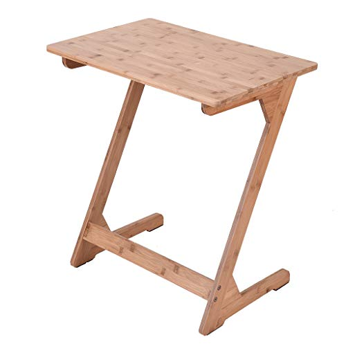 Amazon.com: Mesa de bambú para sofá, sofá, mesa de café ...