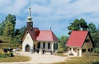 Auhagen 14461 - Chiesa di paese con casa del parroco