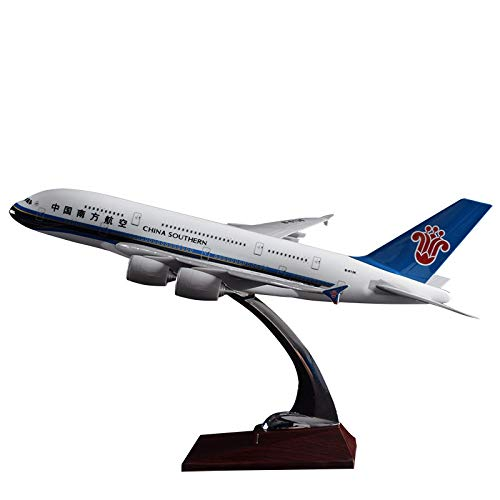 - Marrsto 36Cm Resin Airbus Plane Model A380 China Southern Airlines Aircraft Plane Model Chinese Southern Airplane Airways Model Gift Toy