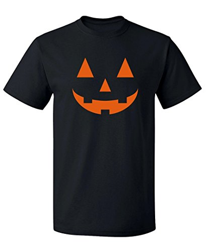 Halloween Costume Carved out Pumpkin Graphic Design T-Shirt - 5X-Large (Couples Boob Costumes)