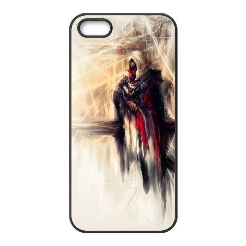 Ezio Auditore Da Firenze 007 coque iPhone 5 5S Housse téléphone Noir de couverture de cas coque EOKXLLNCD15770