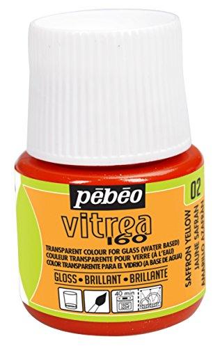 Pebeo Vitrea Glossy 45 Milliliter Saffron