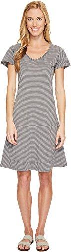 Heather Grey Stripe Dress - 1