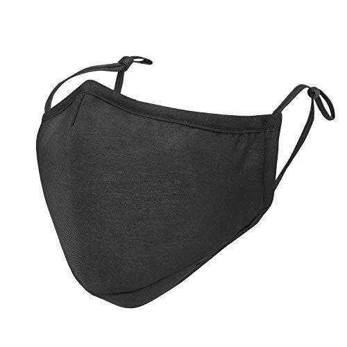 ililily Black Cotton Washable