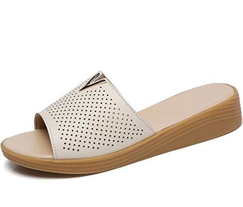 Transpirables Sandalias Planas KUKI Zapatillas Zapatillas Femeninas Cool de Usar 1 Fuera Moda TttpRw