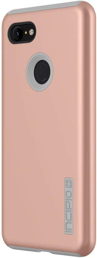 Incipio DualPro Compatible with Google Pixel 3 XL - Iridescent Rose Gold