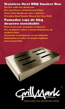 Grillmark Bbq Smoker Box 8'' X 5'' X 2'' Stainless Steel by ACE