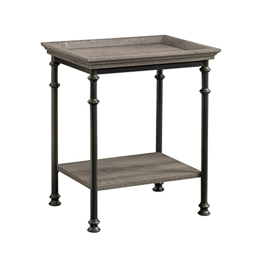 Sauder 419229 Canal Street Side Table, L: 21.50