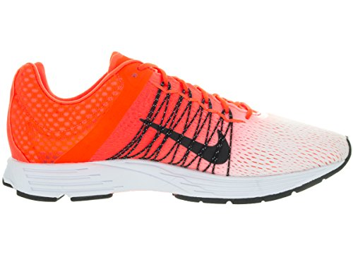 Nike Air Zoom Streak 5 - Zapatillas de running unisex para adultos Blanco/Negro/Naranja (White/Black-Total Crimson)