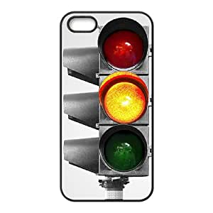 Traffic lights Customized Durable Hard Plastic Case Cover LUQ247979 For Iphone 5,5S