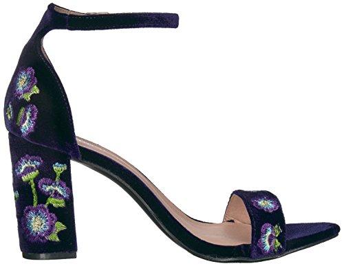 Madden Girl Women's Behave Dress Sandal Purple Velvet discount authentic online outlet sale online cheap sale original outlet huge surprise UWiMAUCzO