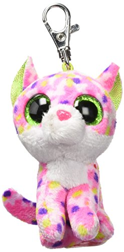Ty Carletto 36634Sophie Cat Clip with Glitter Eyes, Glubschi's Beanie from Ty