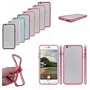 LCJ iPhone 6 Plus compatible Solid Color Bumper Frame , Purple