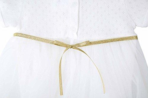 8625a3fb7 T.F. Taffy Taffy Baby Girl Newborn Gold Glitter Floral Short Sleeve Unique  Tutu Bodysuit 6-