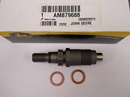 John Deere Diesel Inyector de Combustible boquilla Kit am879688 ...