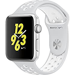 Apple Watch Nike+ 42mm Silver Aluminum Case Pure Platinumwhite Nike Sport Band