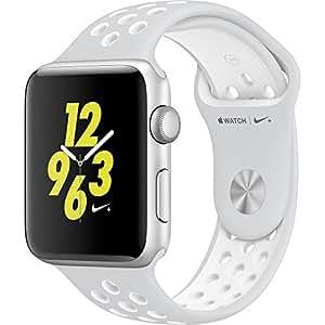 Apple Watch Nike+ 38mm Silver Aluminum Case Pure Platinum/White Nike Sport Band