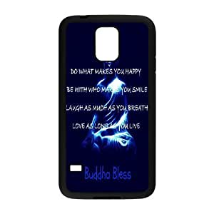 Customized Dual-Protective Case for SamSung Galaxy S5 I9600, Happy Life Cover Case - HL-502670