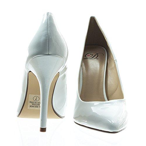 Pumps Date Patent White H Delicious Shoes Womens Fashion TIwqIx8U