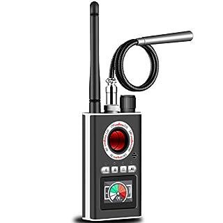Hidden Camera Detector RF Detector spy Camera Finder Wireless Signal Bug Detector Anti Spy Detector GPS Tracker Detector for Listening Device Detector Wireless Audio Bug Detector Hidden Device Finder
