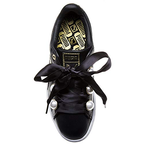 Puma Bling Basket Zapatillas Negro Mujer qrH5Cwq