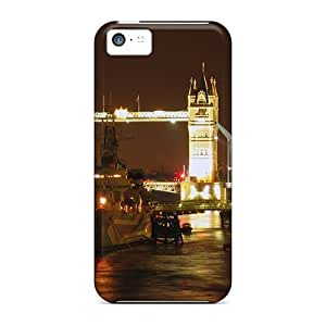 Flexible Tpu Back Case Cover For Iphone 5c - Hms Belfast