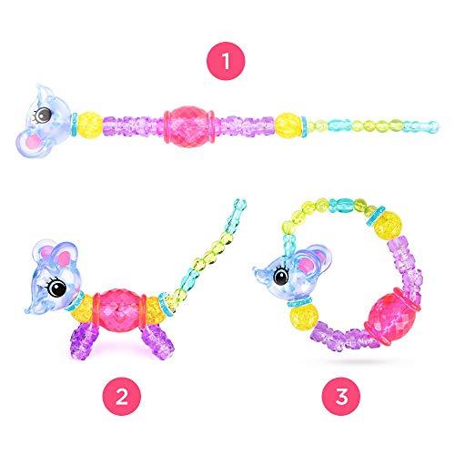 Magic PETZ Pets That Transform Into Sparkly Bracelets - Kids Top Toys 2018 - Kids' Play Bracelets, Animal Twists Bracelets Unicorn, Playsets (Metallic Unicorn)