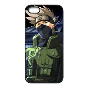 ePcase Well-known Hatake Kakashi Printed Soft TPU Case Cover for Apple iPhone 5 - Naruto