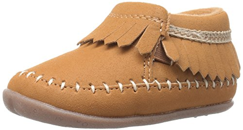 Carter's Every Step Stage 2 Girl's Standing Shoe, Carly, Khaki, 4 M US Toddler