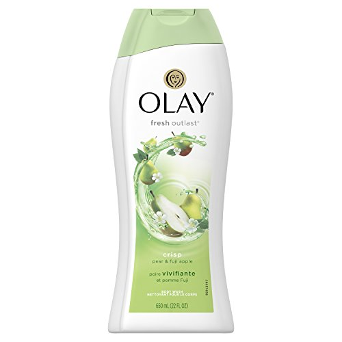 Apple Scented Body Wash - Olay Fresh Outlast Crisp Pear & Fuji Apple Body Wash, 22 oz