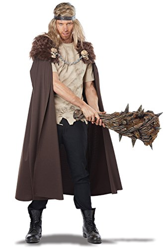 [California Costumes Men's Warlord Cape, Brown, One Size] (Warlord Costumes)