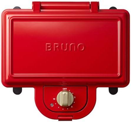 ブルーノ 耳まで焼けるホットサンドメーカー BOE044-RD