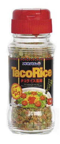 48g sprinkled Okinawa ham synthesis food taco rice flavor