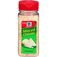 McCormick Premium Quality Minced Onions makes dinner prep a cinch, and thanks to its guaranteed freshness, it also makes dinnertime delicious. Made from fresh, premium quality pungent varieties of white onion, McCormick minced onions is a pan...
