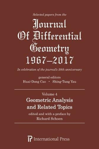 Selected Papers from the Journal of Differential Geometry 1967-2017, Volume 3 [various contributors]