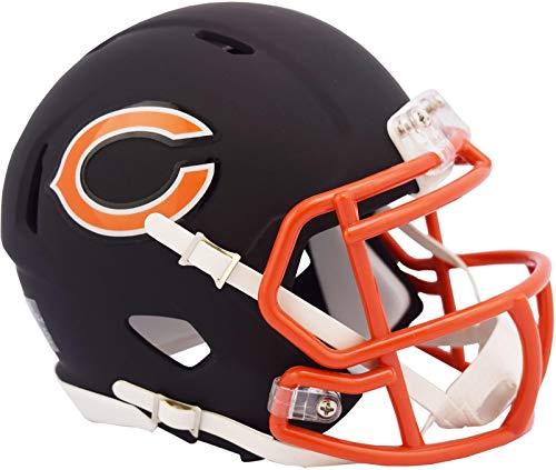 Chicago Bears NFL Black Matte Alternate Speed Mini Football -