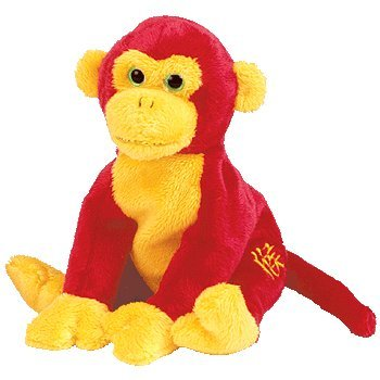 Image Unavailable. Image not available for. Color  TY Beanie Baby -  CHOPSTIX the Monkey ab51b2e63e32