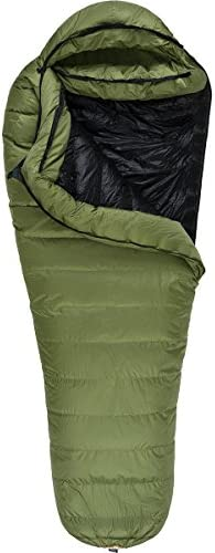 Western Mountaineering Badger Gore Windstopper Sleeping Bag Sage 6FT 6IN Left Zip