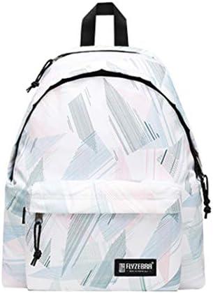 男の子と女の子のためのレジャーバックパックユニセックス防水ファッションプリントバックパックスクールブックバッグ