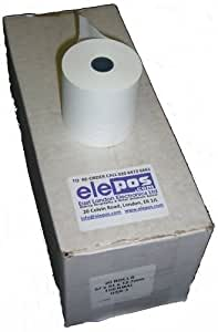 57 x 51 rollos de papel térmico para Fortronic (20 rollos de papel para) Elite