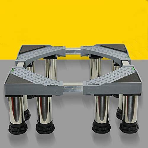 ZJYSM Twelve Feet Bracket Stainless Steel Metal Base Washing Machine Shockproof Base Dryer Base Washing Machine Tumble Dryer Cookware Refrigerator Freezer Bracket Base Home Appliance Base