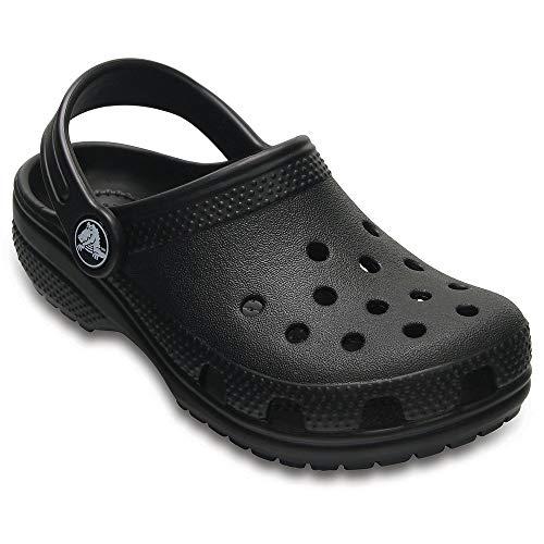 Crocs Kids Classic Clogs, Black 1 by Crocs