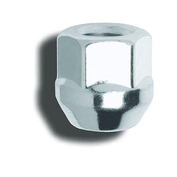 -Box of 100 Gorilla Automotive 40038 Acorn Open End Bulge 12mm X 1.50 Thread Size